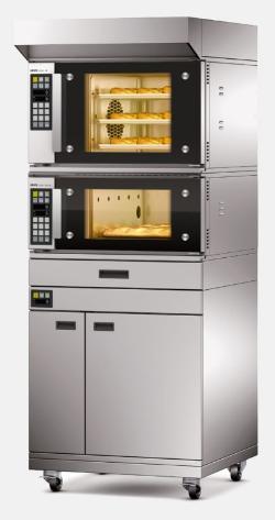 מתוחכם תנור אפיה משולב תאים, קונווקטומט, בית מאפה, י. גוטליב EX-93